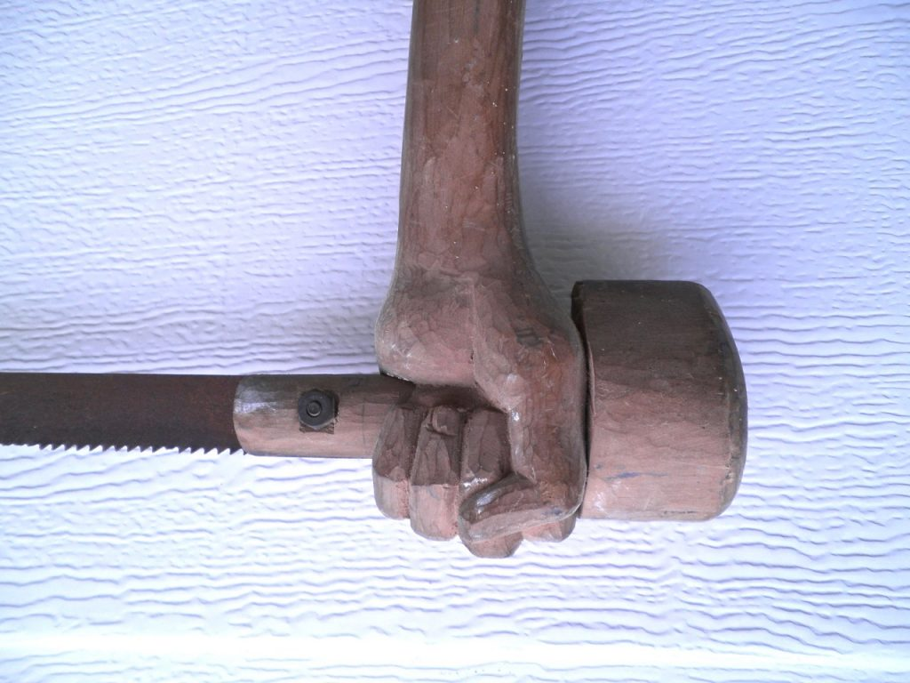 Deke Slaton Bandsaw detail