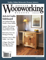 October 2010 Issue Popular Woodworking