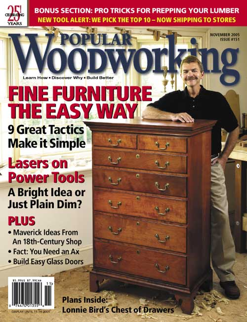 November 2005 Issue Popular Woodworking