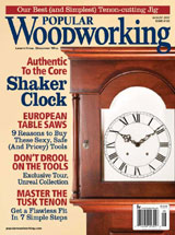 August 2007 Issue Popular Woodworking
