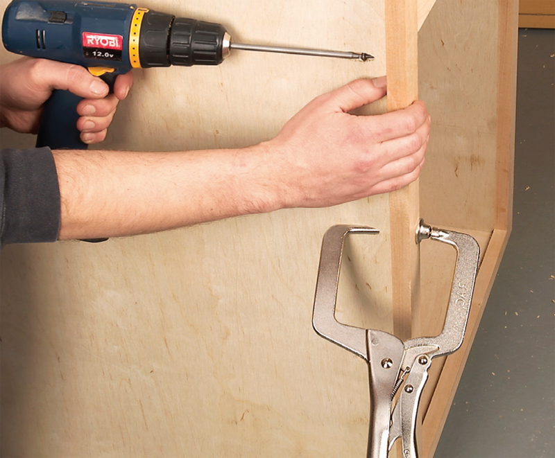 attaching face frame to cabinet carcass | memsaheb.net