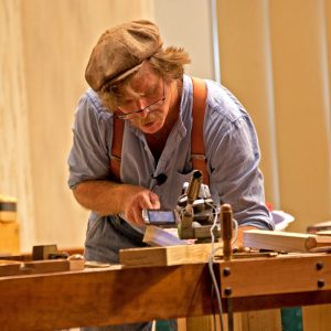 Roy Underhill at Woodworking in America