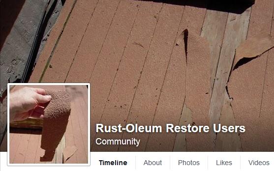 Rust-Oleum Failure 1