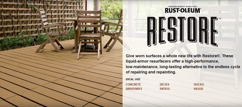 Rust-Oleum's Ad
