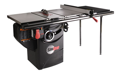 Table Saw Reviews Sawstop Jet Powermatic And Steel