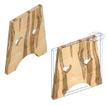 Rotate Tool SketchUp