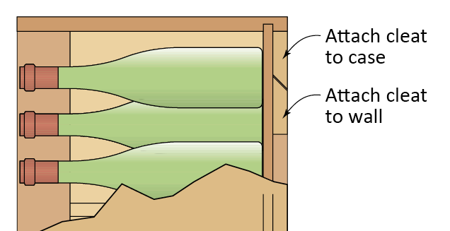 French cleat diagram