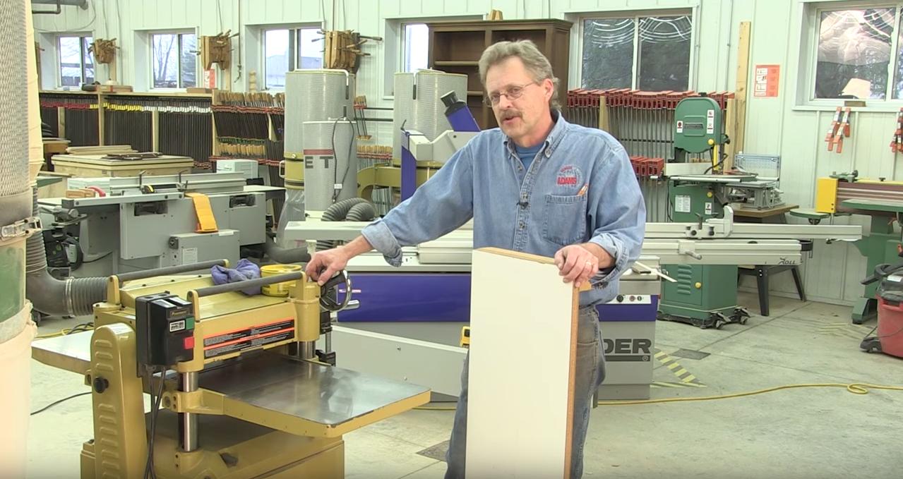 Doug explains how to reduce planer snipe