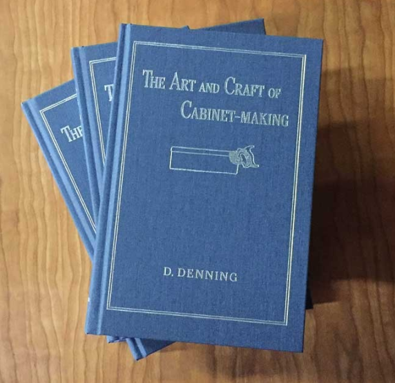 Stack of books, The Art and Craft of Cabinet-Making