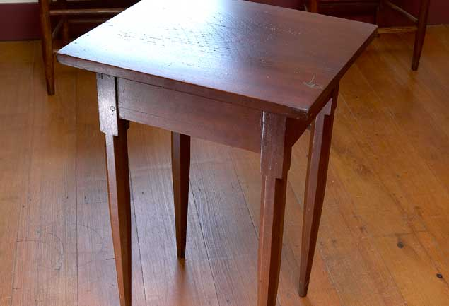 The Thickness Of The Top And Legs Of This Pleasant Hill Side Table Gives It  A More Muscular Look Than Side Tables Of Similar Size Made In Eastern ...