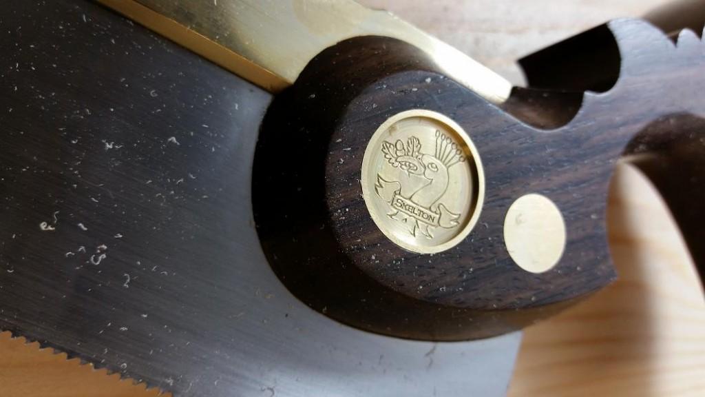 Skelton Dovetail Saw Medallion