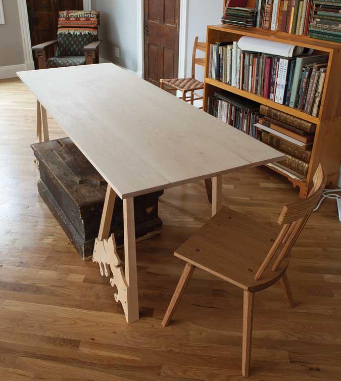 soap finish table flat sheen