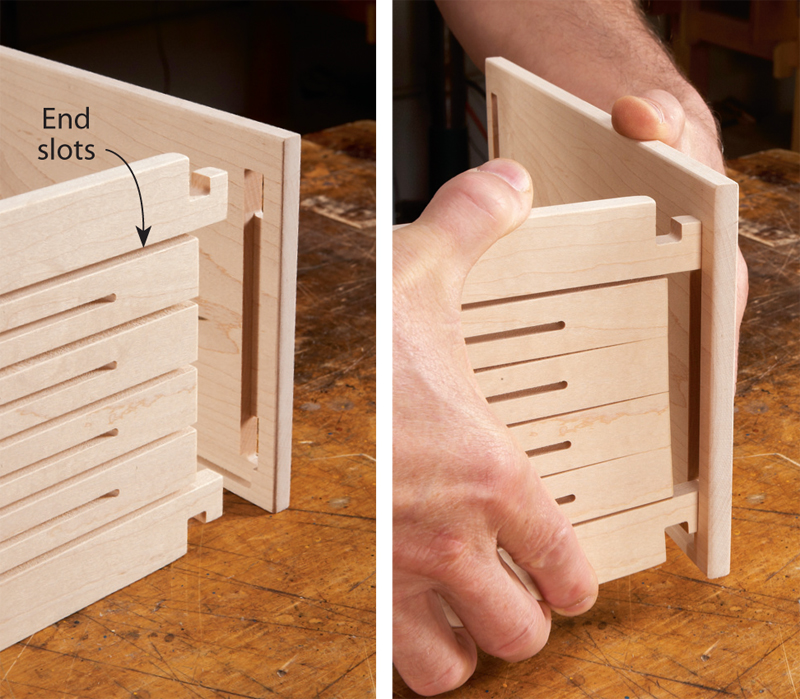 Cnc Spring Joint Box Popular Woodworking Magazine