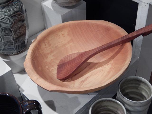 Steve Antonucci's maple bowl