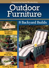Outdoor Furniture, Christopher Schwarz, woodworking, home improvement, gardening, garden bench, garden swing, picnic table