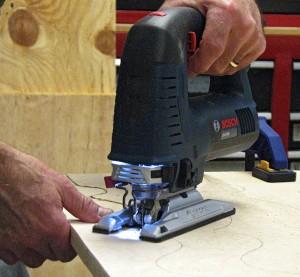 LED Light on New Bosch Jig Saw