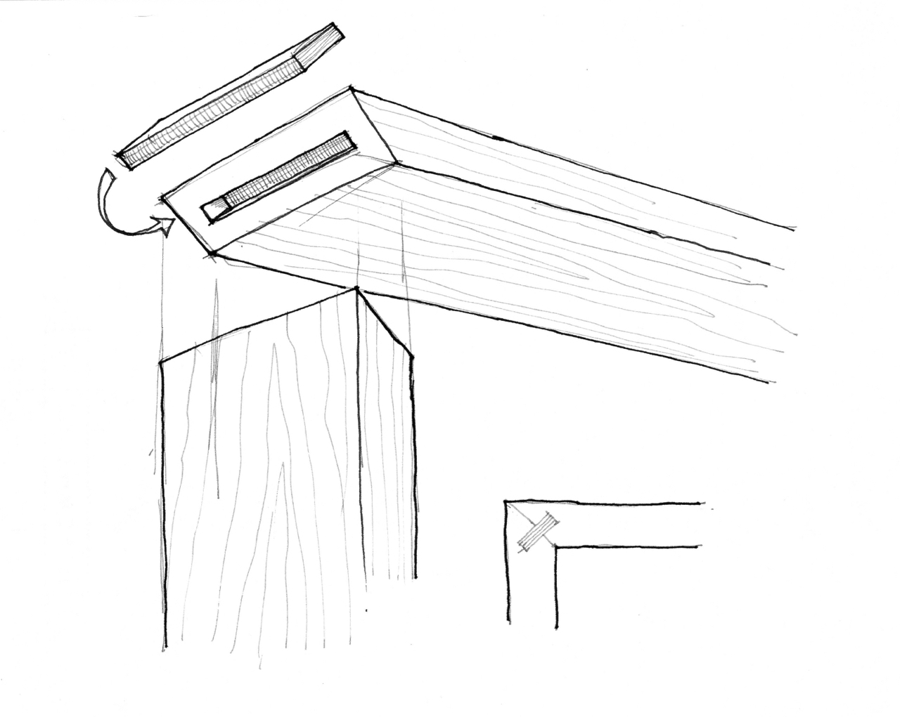 Plywood spline