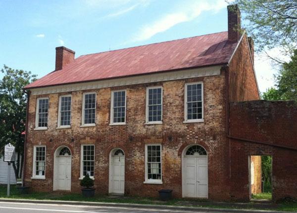 The Thomas Day House/Union Tavern in Milton, N.C.