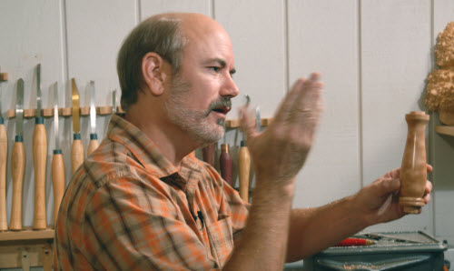 Watch Woodturning with Tim Yoder every Saturday morning