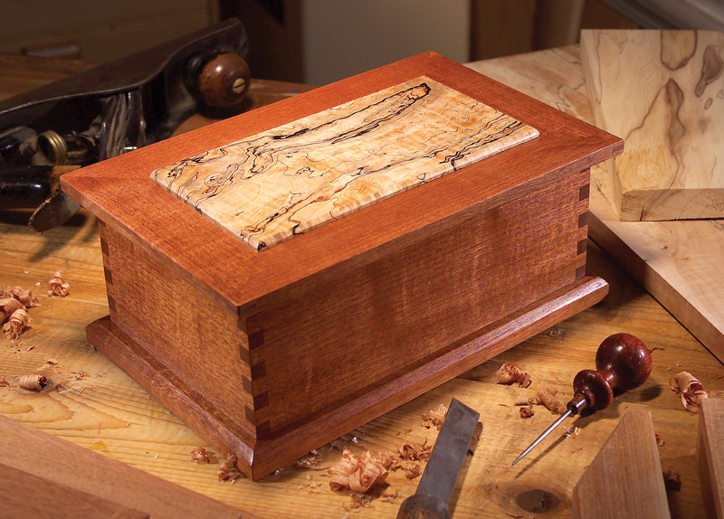 AW Extra 3/7/13 - Treasured Wood Jewelry Box - Popular Woodworking Magazine
