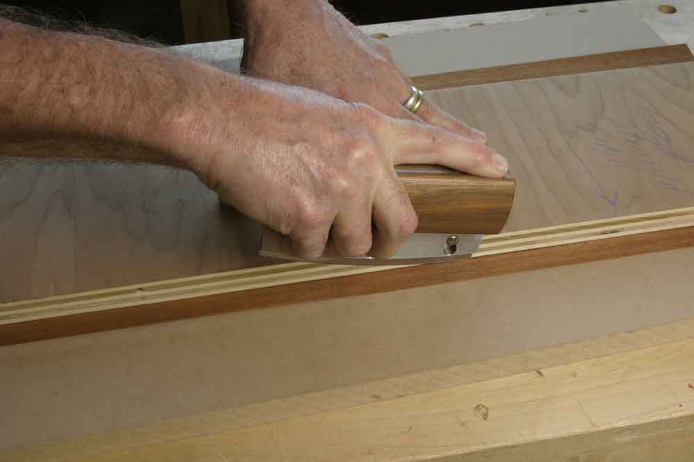 Three Ways To Joint Veneer Edges Popular Woodworking Magazine