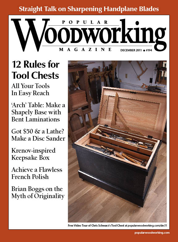 December 2011 Issue Popular Woodworking