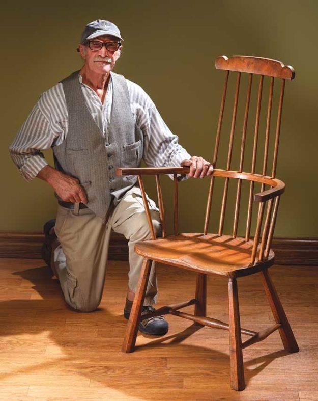 don weber welsh stick chair