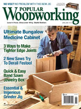 April 2009 Issue Popular Woodworking
