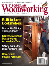 August 2008 Issue Popular Woodworking