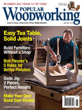 June 2008 Issue Popular Woodworking