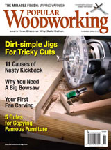 November 2008 Issue Popular Woodworking