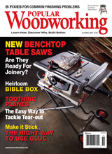 October 2009 Issue Popular Woodworking