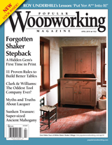 April 2010 Issue Popular Woodworking