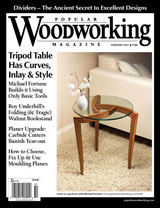 February 2011 Issue Popular Woodworking