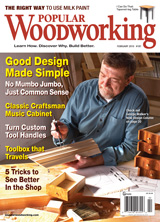 February 2010 Issue Popular Woodworking