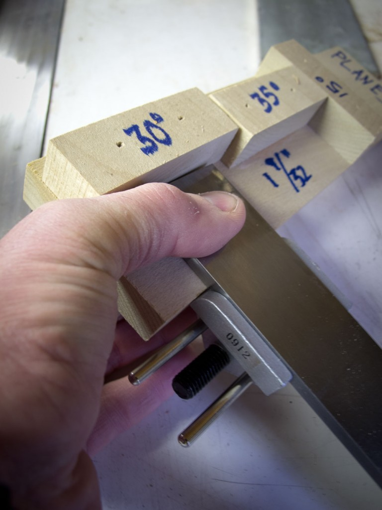 DIY Chisel sharpening guide