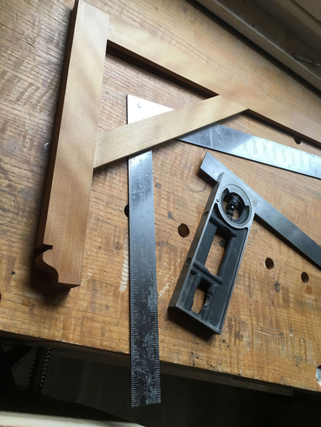 Tip to Square a Framing Square