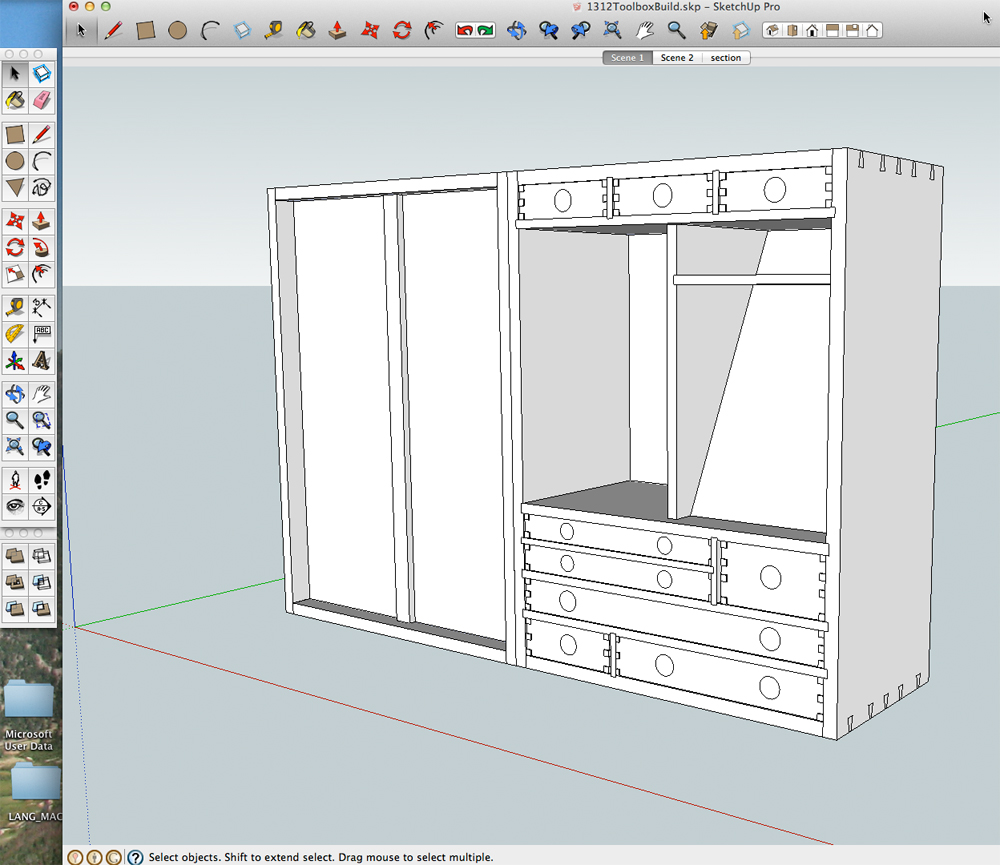 Details and dimensions from a sketchup model popular for Free google house plans