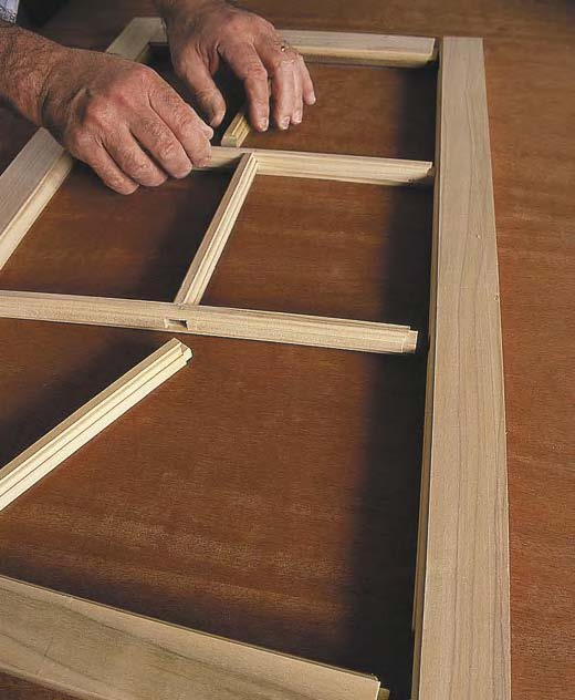 Learn about building a door frame with this free download.