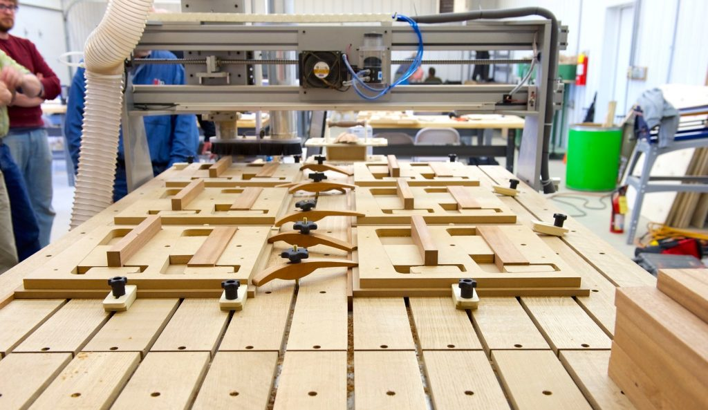 CNC fixtures making clamps
