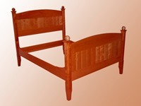 Double Size Cherry Bed