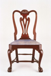 Newport, RI side chair made by John Goddard
