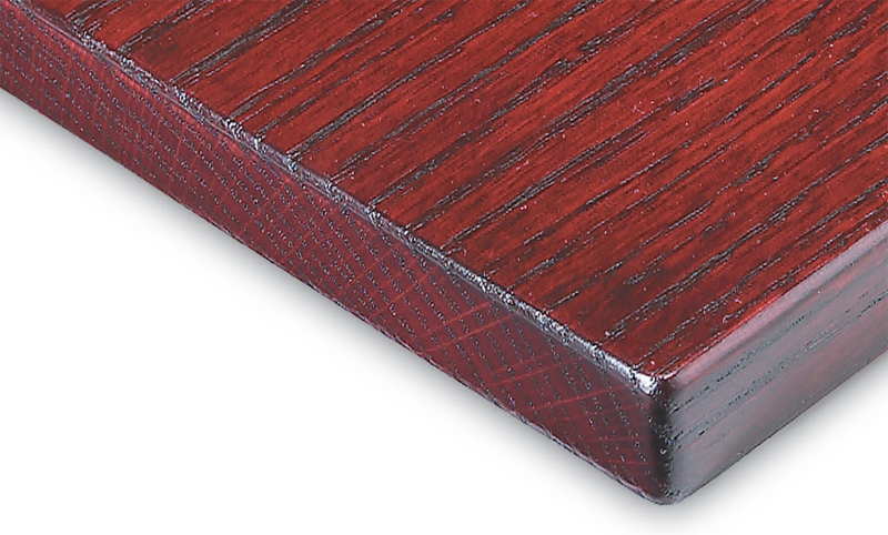 Deep Dark Red Oak