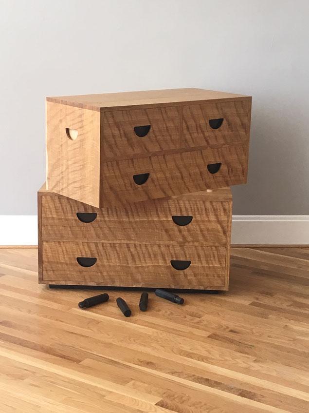 danish modern chest