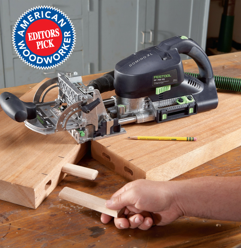 Woodworking Tool News - Extra-Large Loose Tenons Popular
