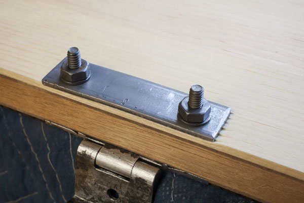 DIY hinges for wooden tool chest plans