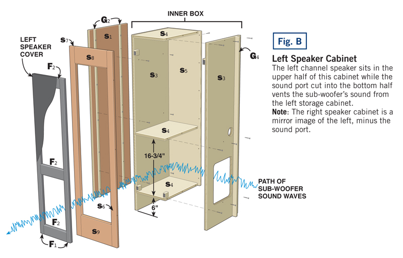 Home Theater Speaker Cabinet Design Home Review Co