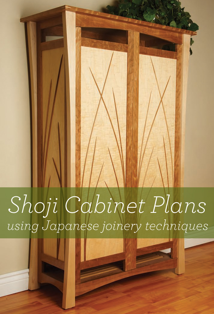 Note to self: Download this free guide to Japanese joinery techniques including a Shoji cabinet plan at PopularWoodworking.com.