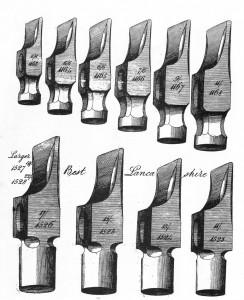 Lancashire pattern hammers