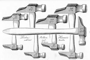 London pattern hammers
